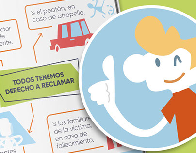 Folleto Confía · Illustration & Communication