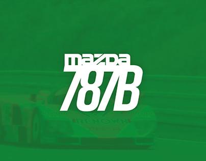 MAZDA 787B Infographic