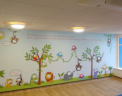 The King's Church Mid-Sussex: Preschool graphics