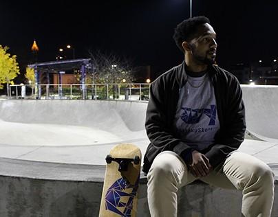 Galaxy Sloth Skate Brand