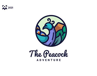 The Peacock Logo