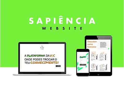 Sapiência - Website