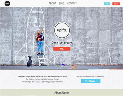Uplftr.com - Homepage