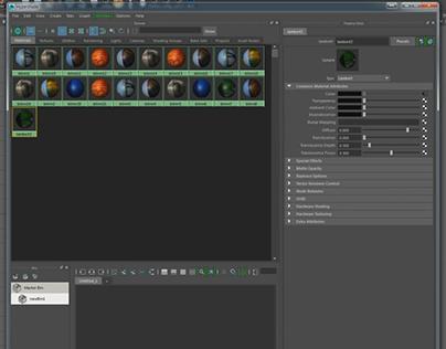 Maya Python facial rig script DEMO on Behance