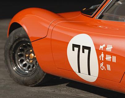 1967 Alfa Romeo Tipo 33 Stradale Rendering
