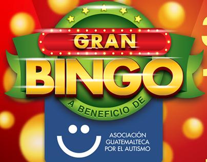 Afiche Bingo - AGUA