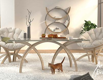 Author's series of furniture ARCEA