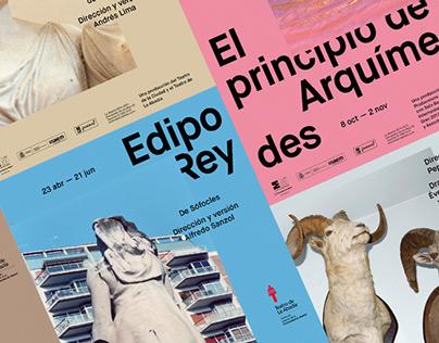 Teatro de La Abadía –Posters 2014-2015