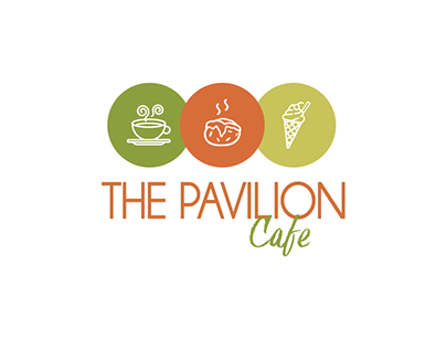 The Pavillion Cafe | Logo Design @superflymarketing