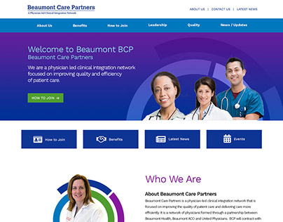 Beaumont Care Partners Website