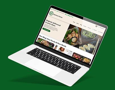 Quintura Farms Logo, Website & App Design