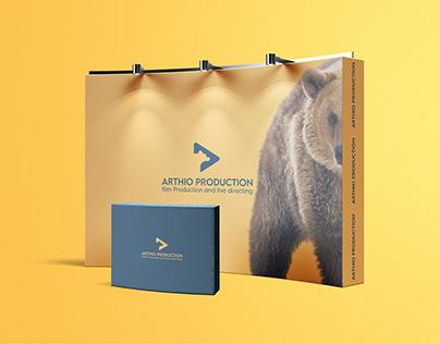 Arthio Production - Logo & Visual Identity design