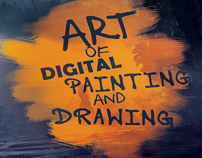 Art of digital painting_magazine design