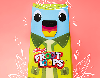 Froot Loops Packaging Redesign (Student Project)