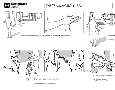 Storyboards - various projects