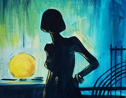 Nighttime reflection