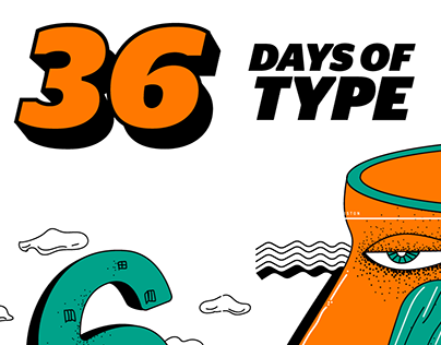 36 Days of Type on Instagram