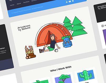 Rachellepurych.com Website Design