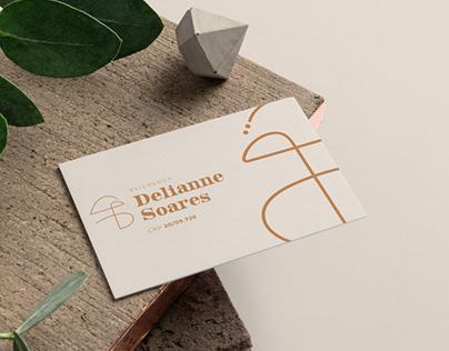 Delianne Soares - Identidade Visual