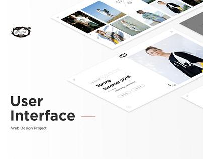 Apparel Brand Site Design