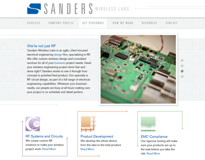 Sanders Wireless Labs