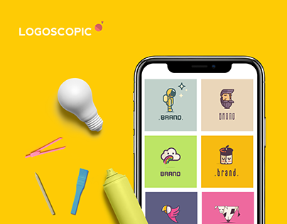 LOGOSCOPIC APP logomaker studio iOS