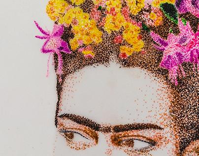 Frida Pontilhismo