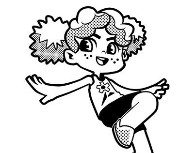 Gartênia mangá Characters