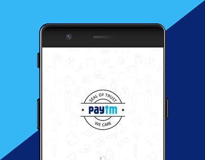 Paytm App's Payment Feature Concept