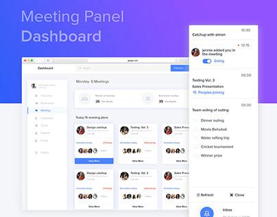 Dashboard (Interaction Design, UI/UX, Web Design )