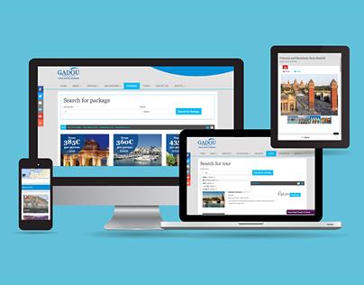 GADOU Travel Online Presence Creation