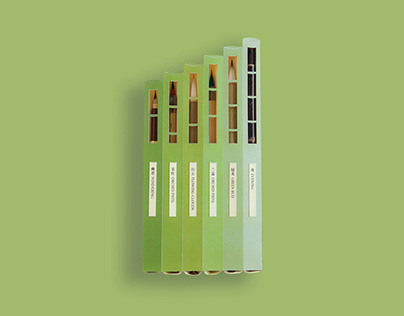 Packaging&Identity System Design | Bamboo Brushes