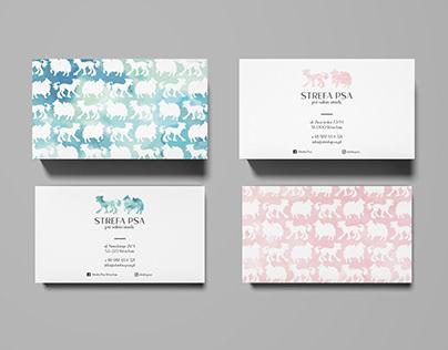 STREFA PSA / groomer / visual identity & design