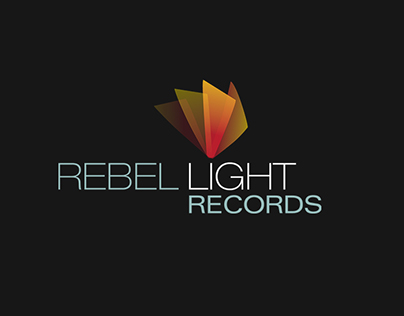 Design for Rebel Light Records