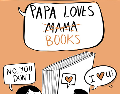 Papa Loves Mama/ Books