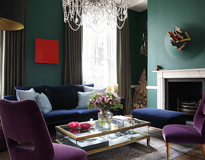 Chelsea Private Residence by Ana Engelhorn Interior Des