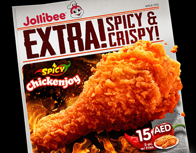 Jollibee EMEA Spicy Chickenjoy: Extra! Extra!