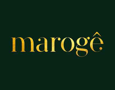 Marogê // typeface