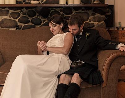 Mariage de Marie-Éve et Gavin, St-Adèle