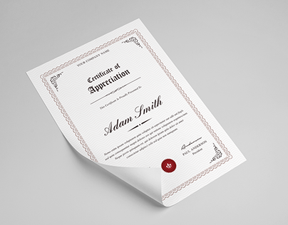 Multipurpose Certificate Template V1