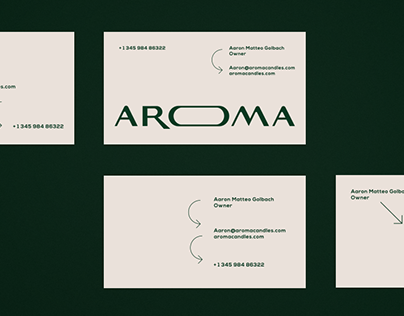 AROMA Identity & Packaging