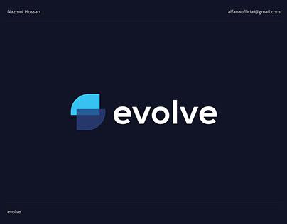 evolve - Logo Design