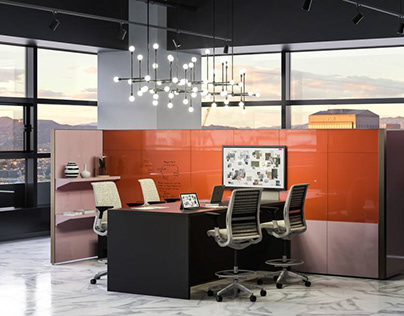 Answer Glass panel Steelcase