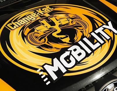 Создание ливреи автомобиля для СhangeKat MOBILITY