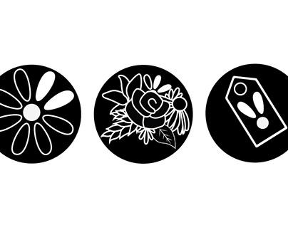 Vault and Vine Icon Design