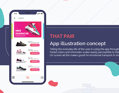 IU App illustration concept - That pair