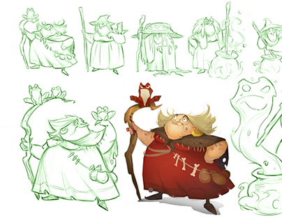 Sketches characters