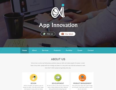 App-Innovation-Landing-Page