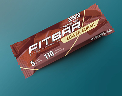 FITBAR-Chocolate packaging