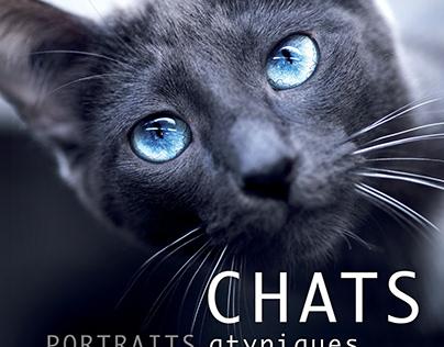 Chats, portraits atypiques livre